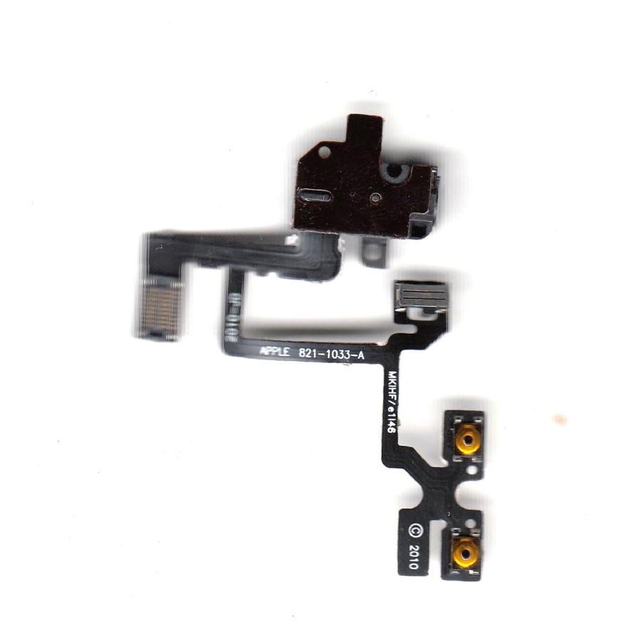 Handsfree Jack Flex Cable For Iphone 4 4g Audio - Maxbhi Com