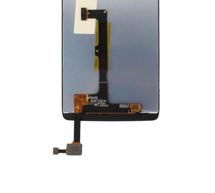 LCD with Touch Screen for Alcatel Idol 4 - White (display glass combo  folder)