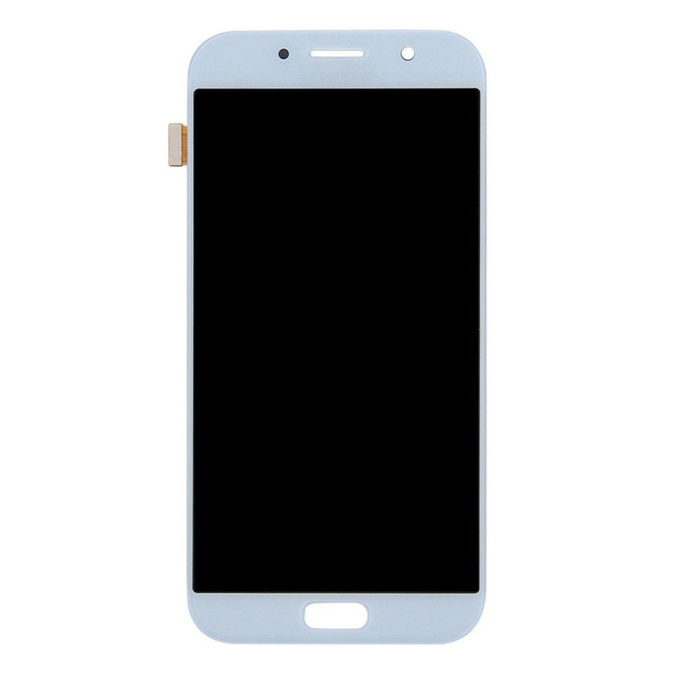 Lcd With Touch Screen For Samsung Galaxy A7 2017 Blue By - Maxbhi Com