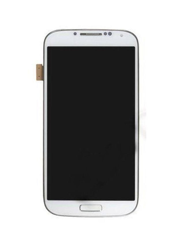 Lcd With Touch Screen For Samsung I9506 Galaxy S4 White By - Maxbhi Com