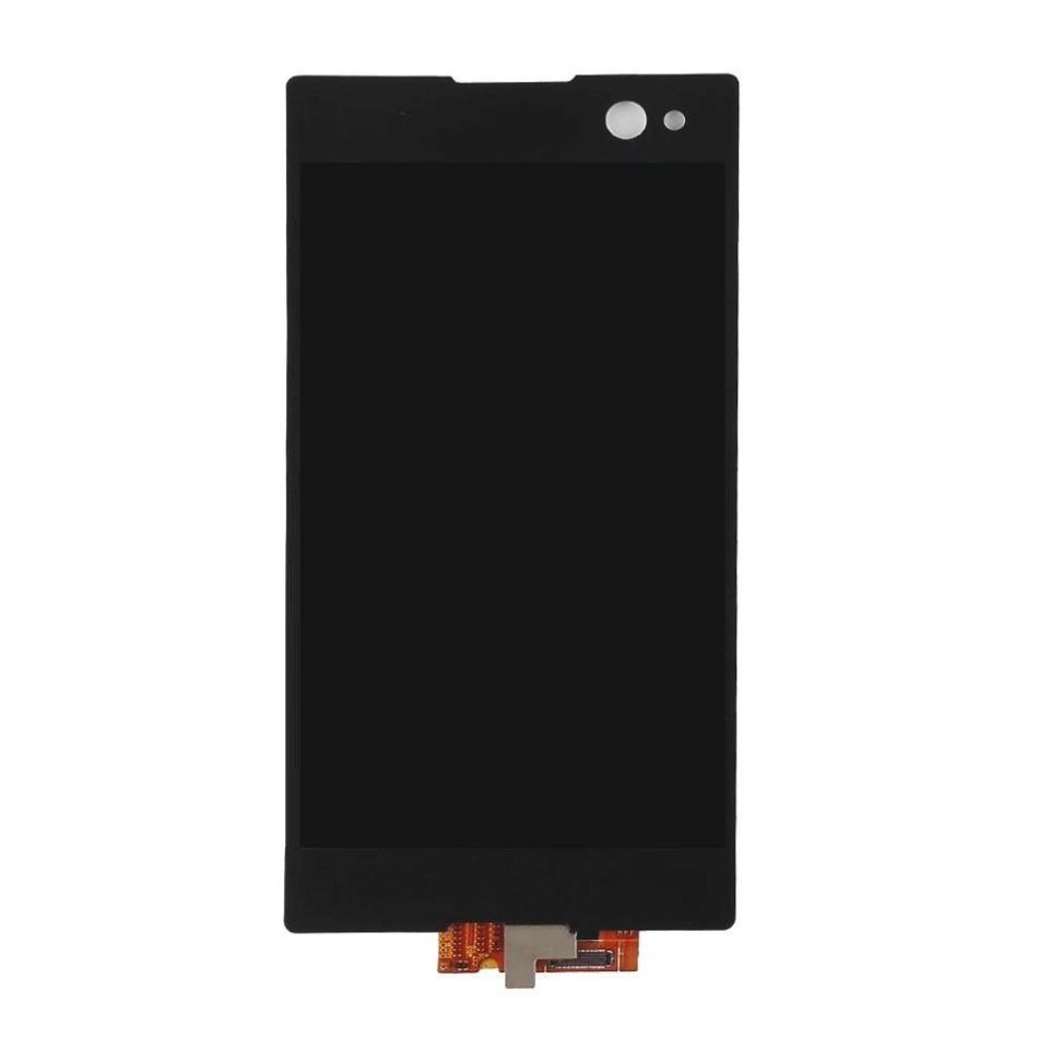 Lcd With Touch Screen For Sony Xperia C3 Dual D2502 Black By - Maxbhi Com