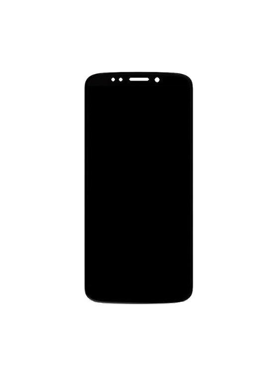 Lcd With Touch Screen For Moto G6 Play Black By - Maxbhi Com