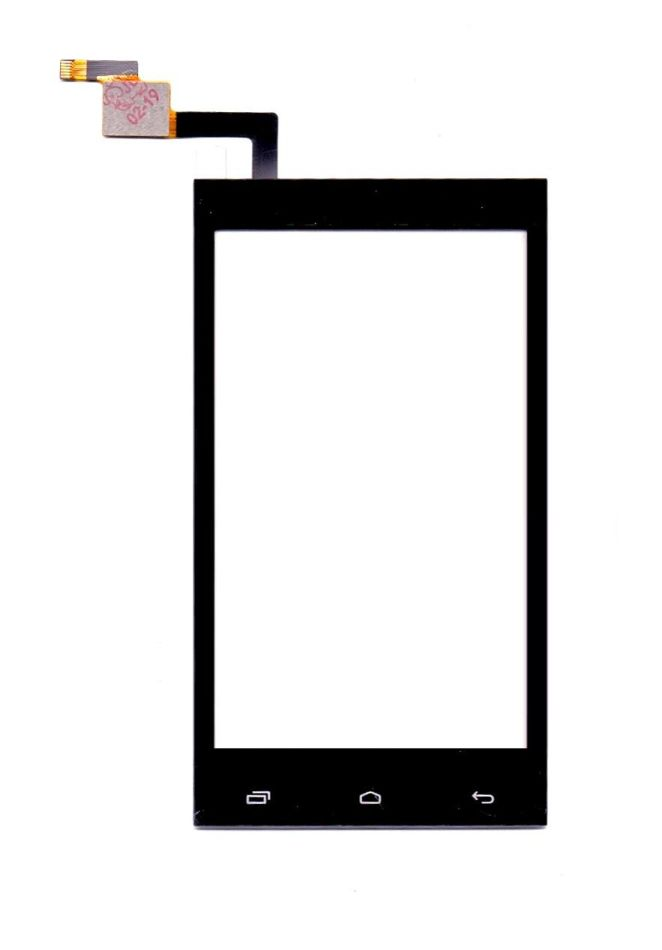 Touch Screen Digitizer For Intex Aqua 3g Pro Champagne By - Maxbhi Com