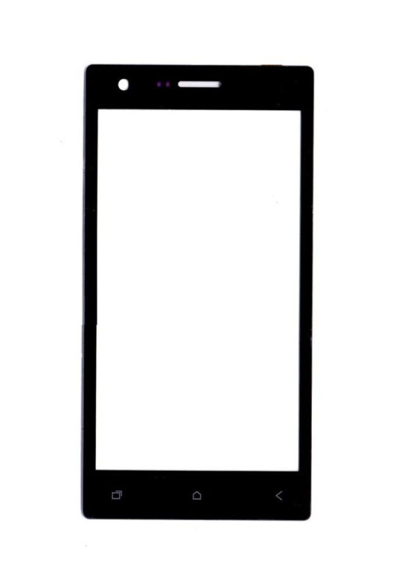 Replacement Front Glass For Micromax Canvas Xpress 4g Q413 Grey By - Maxbhi Com