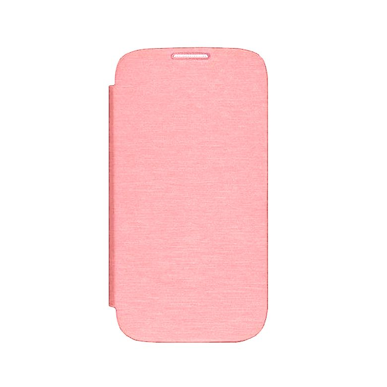 Flip Cover For Samsung Galaxy J7 Pro Rose Gold