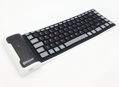 Wireless Bluetooth Keyboard for Apple iPad 3 Wi-Fi by Maxbhi.com