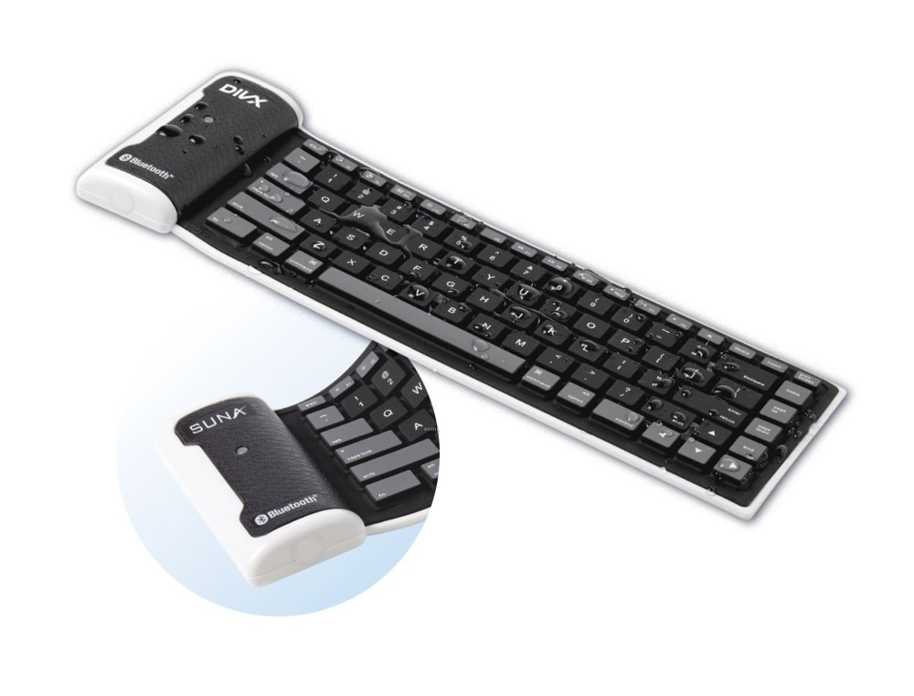 Wireless Bluetooth Keyboard for Apple iPad Wi-Fi by Maxbhi.com