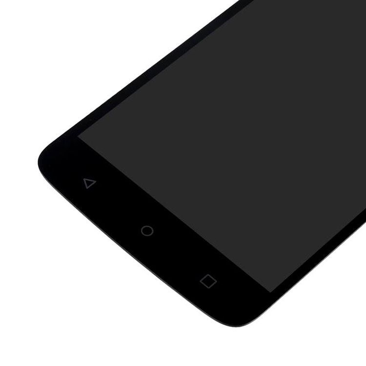 Lcd With Touch Screen For Moto C Plus Black By - Maxbhi Com