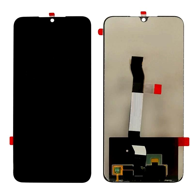 Lcd With Touch Screen For Xiaomi Redmi Note 8 Black By - Maxbhi Com