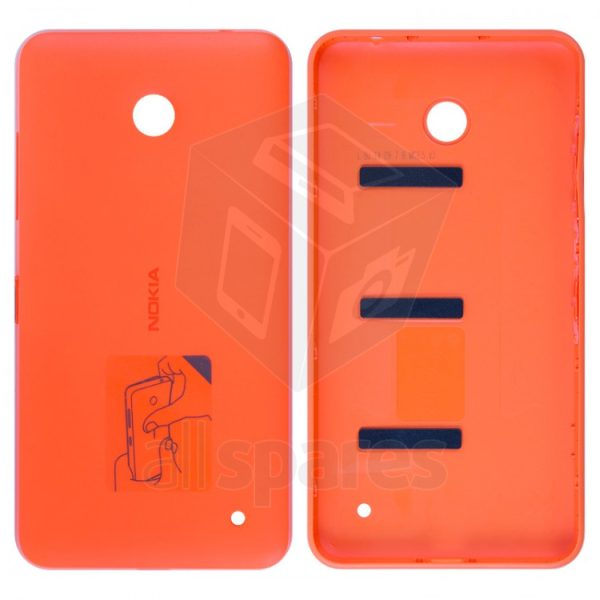 the best attitude 17422 bb06c Back Panel Cover for Nokia Lumia 630 Dual SIM - Orange