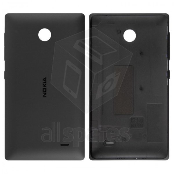the best attitude 02024 bfd02 Back Panel Cover for Nokia X Dual SIM RM-980 - Black