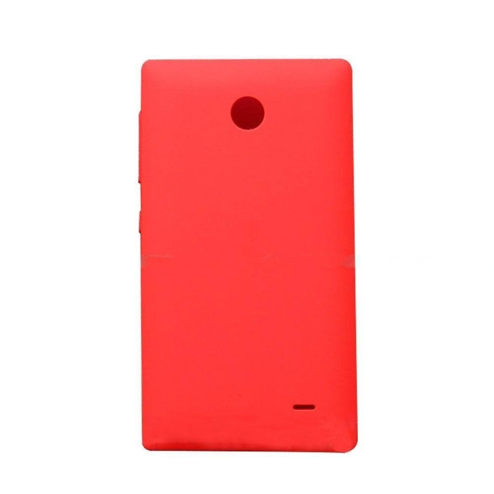 free shipping d4ba8 c7545 Back Panel Cover for Nokia X Dual SIM RM-980 - Red