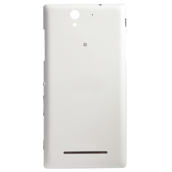 Back panel cover for sony xperia c3 dual d2502 white maxbhi back cover for sony xperia c3 dual d2502 white reheart Gallery