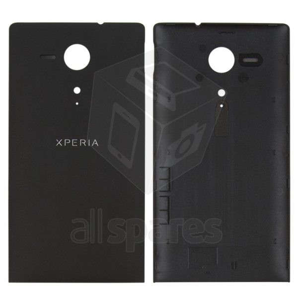 size 40 48980 9f359 Back Panel Cover for Sony Xperia SP - Black