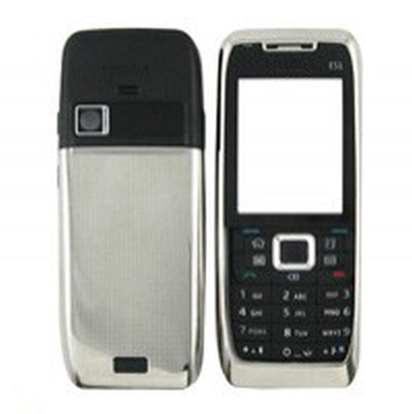 front back panel for nokia e51 silver maxbhi com rh maxbhi com Nokia E6 Nokia E63
