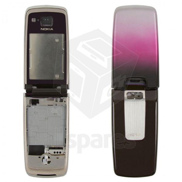 Full Body Housing for Nokia 6600 fold - Wine Red