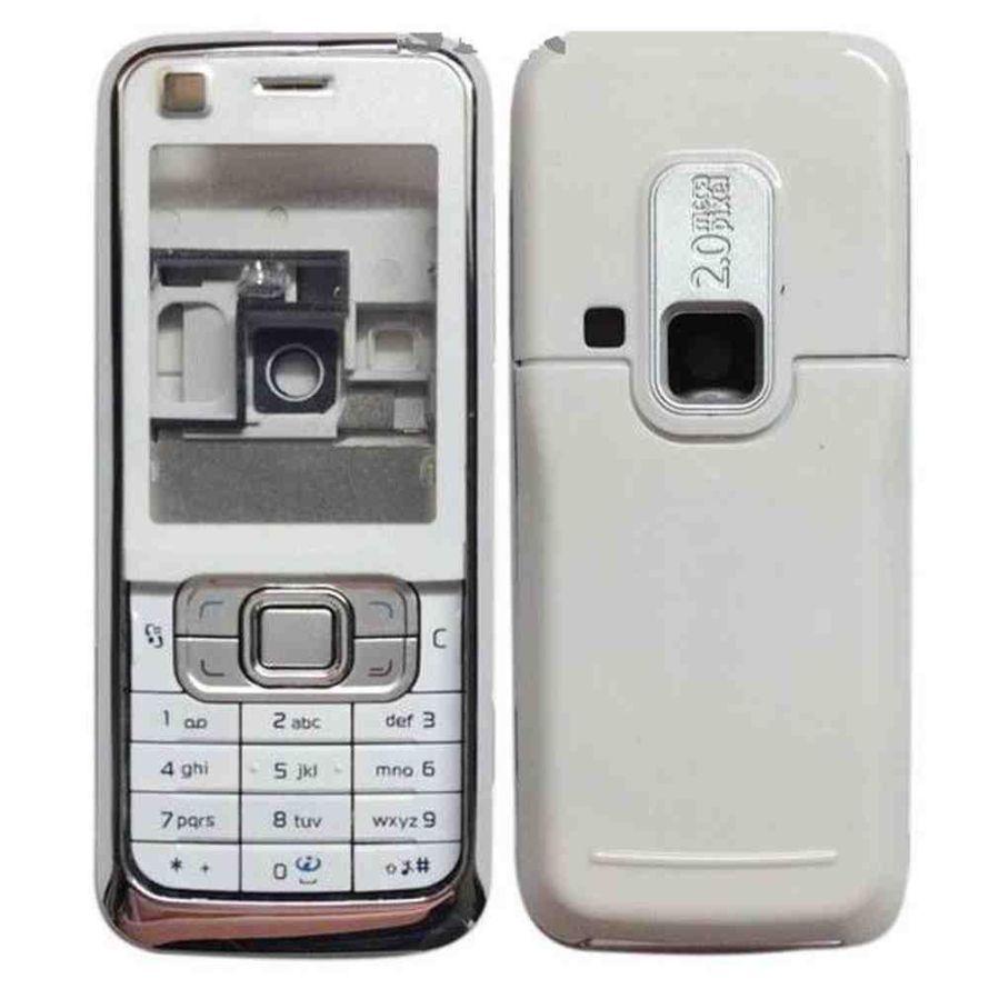 b2d6998b0e918 Full Body Housing For Nokia 6120 Classic Silver - Maxbhi.com ...