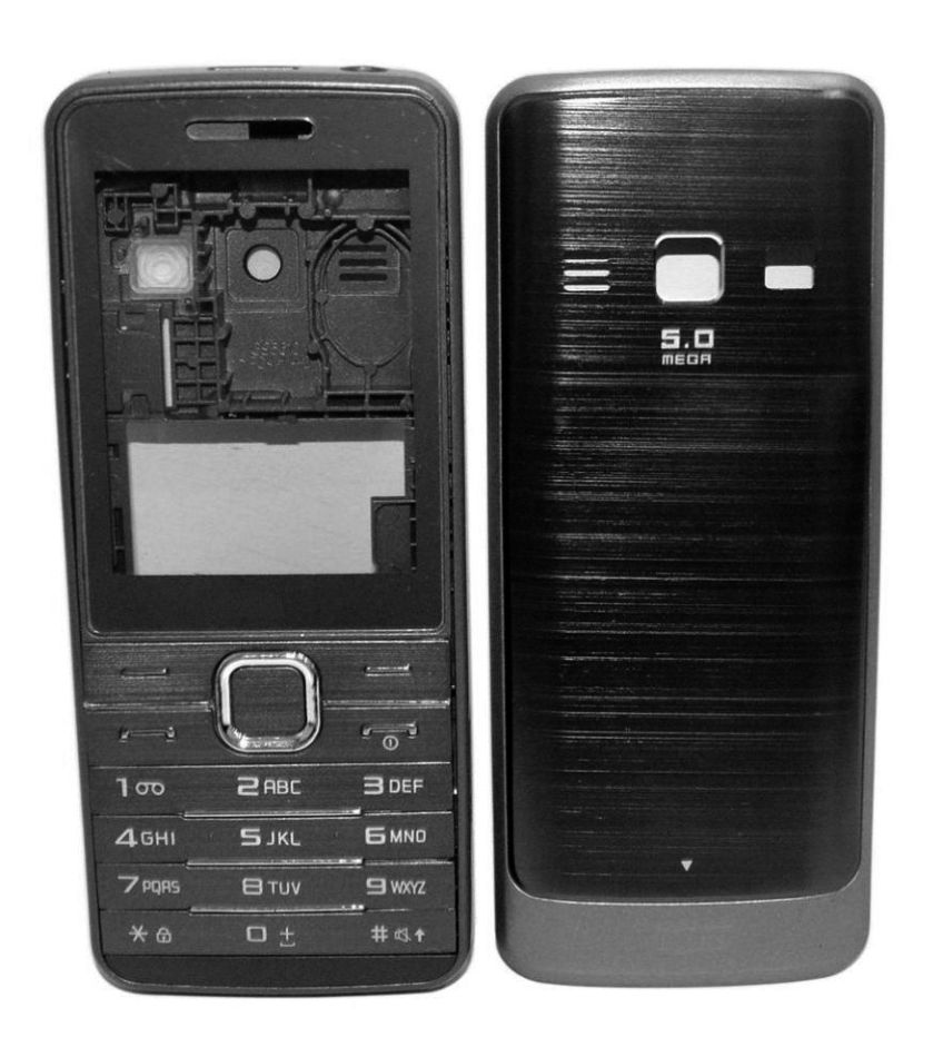 Full Body Housing For Samsung S5610 Primo Grey - Maxbhi.com