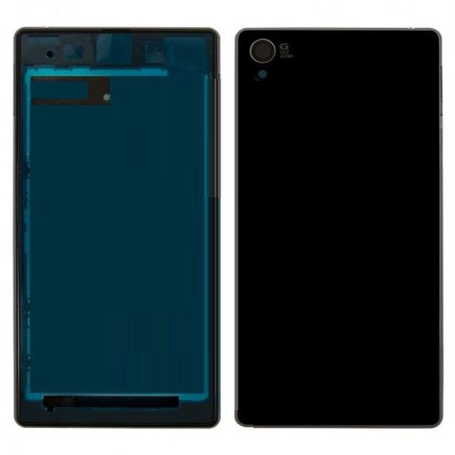 Full Body Housing For Sony Xperia Z1 C6902 L39h Black - Maxbhi.com