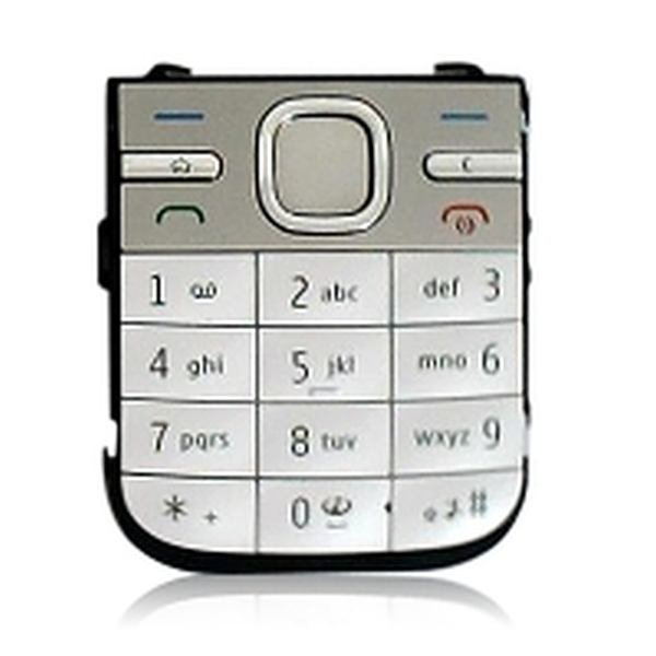 Keypad For Nokia C5 - White