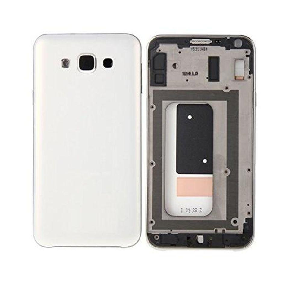 Full Body Housing For Samsung Galaxy E7 Sme700f White - Maxbhi.com