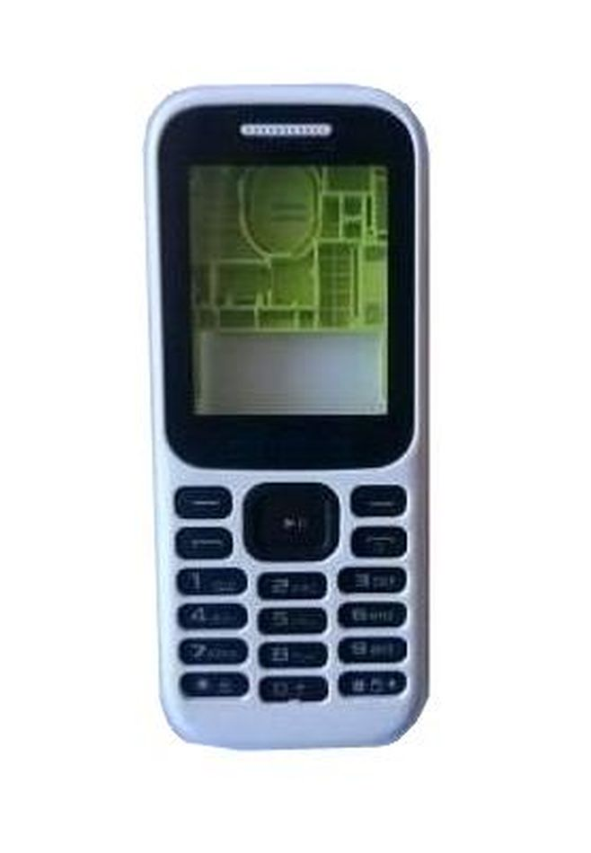 Full Body Housing For Samsung Guru Music 2 Smb310e White - Maxbhi.com