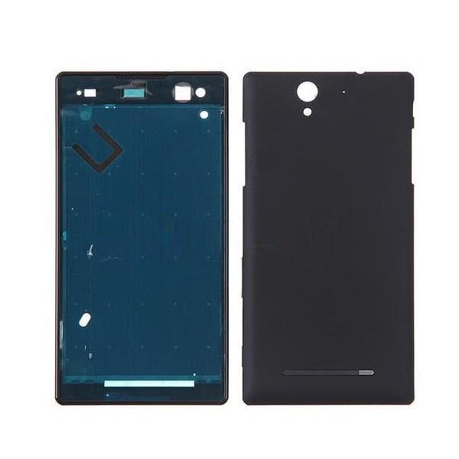 Full Body Housing for Sony Xperia C3 Dual D2502 - Black