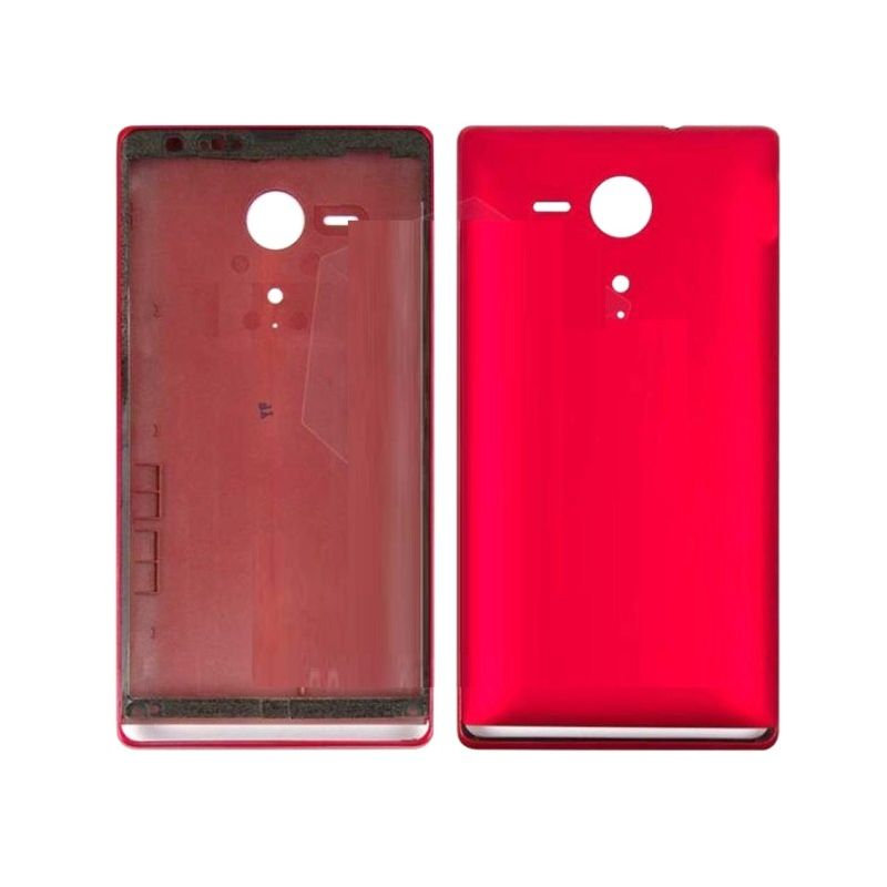 low priced 5c4ea f1162 Full Body Housing for Sony Xperia SP LTE C5306 - Red