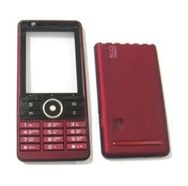 Housing for sony ericsson g900 dark red maxbhi. Com.