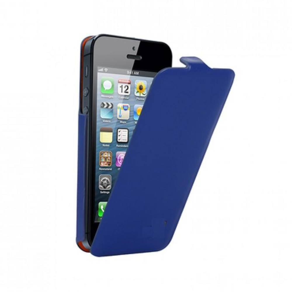 new style c12ed e8a54 Flip Cover for Apple iPhone 5s 32GB - Blue