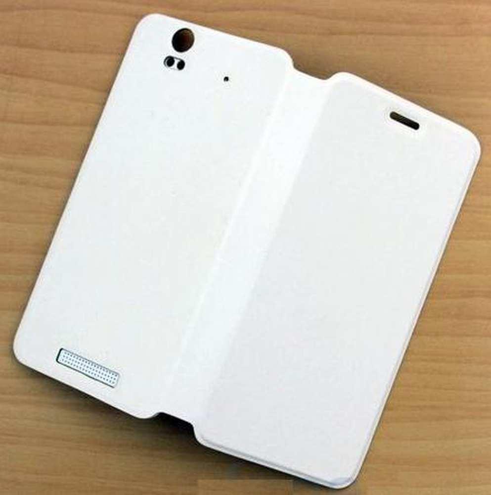 Flip Cover for Lava Iris X1 - White