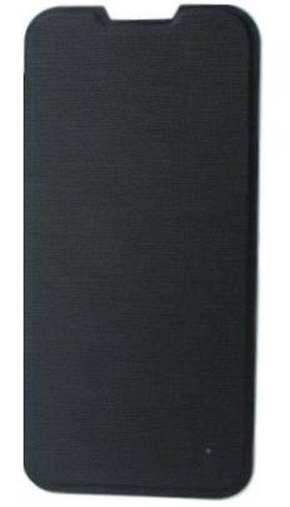 Flip Cover for Lava Iris 400 Colors - Black