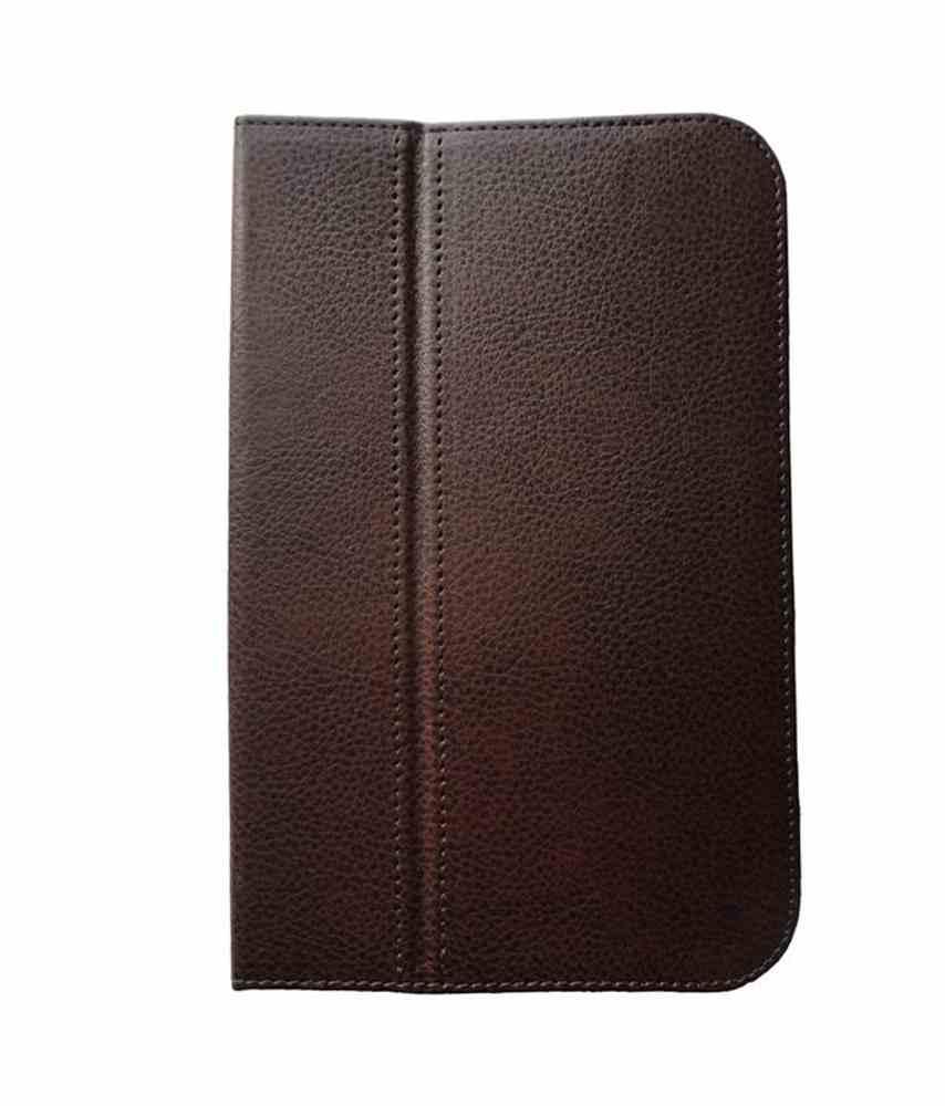 Flip Cover For Lenovo S5000 Brown