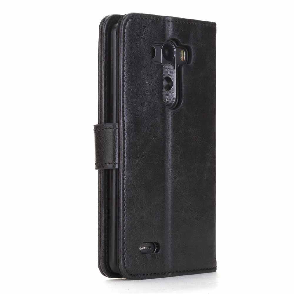 sneakers for cheap d3965 3baf5 Flip Cover for LG G3 A F410S - Black