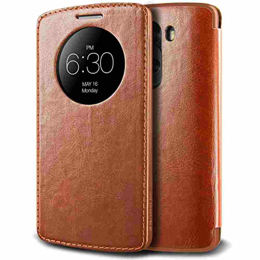 buy online 9981f a5007 Flip Cover for LG G3 - Brown