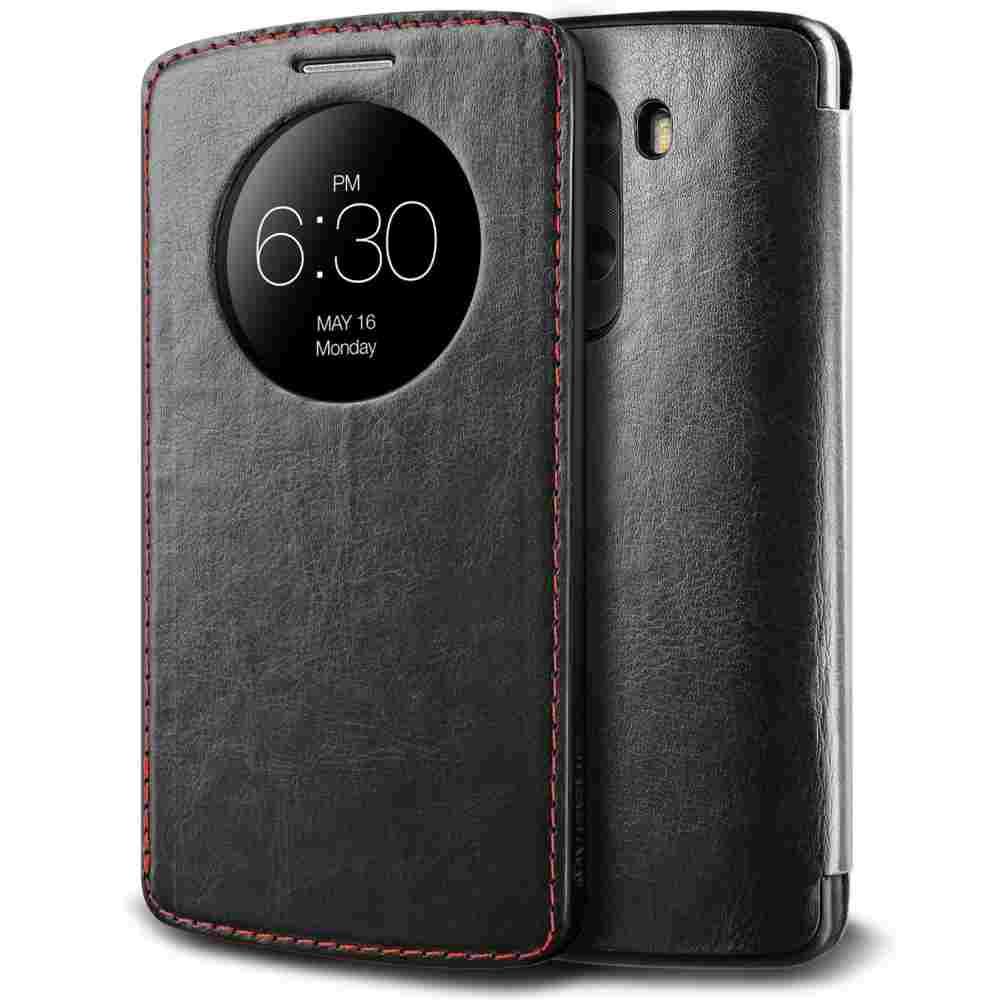 new product 9e73a b89a6 Flip Cover for LG G3 Vigor - Black