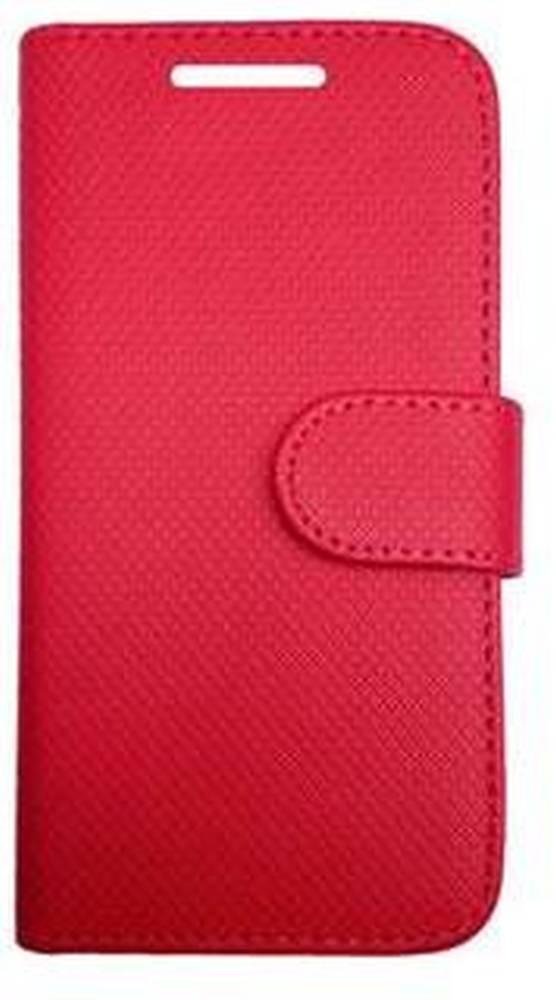 Flip Cover for Samsung Galaxy Axiom R830 - Red