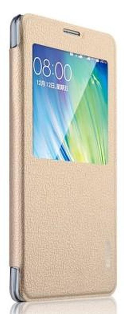 Flip Cover for Samsung Galaxy Grand Prime SM-G530H - Gold