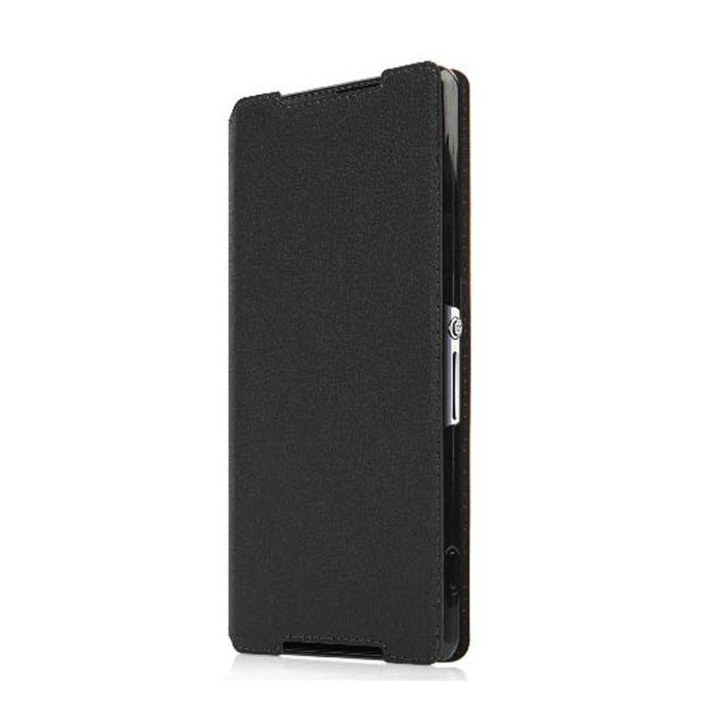 new style aac02 f9dbb Flip Cover for Sony Xperia Z2 - Black