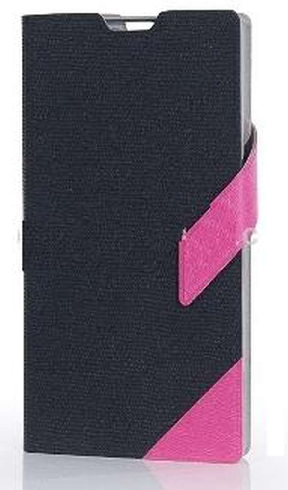 Flip Cover for vivo Y28 - Black