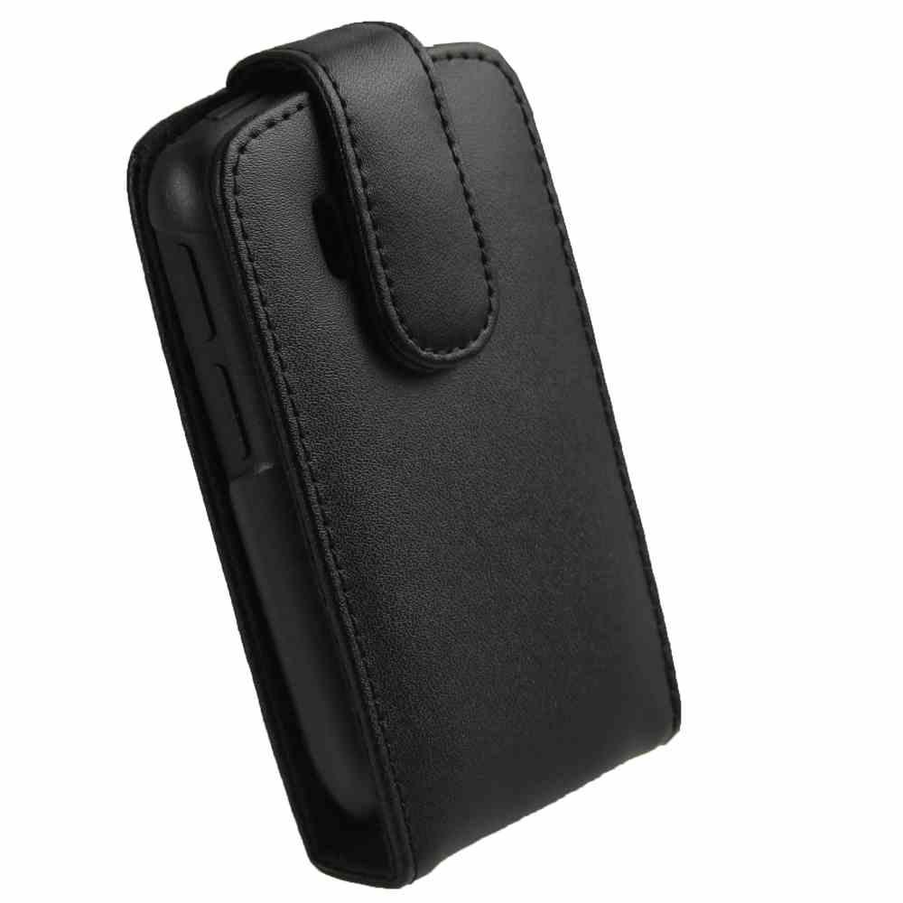 los angeles f26f3 9fe80 Flip Cover for HTC Explorer A310E - Black