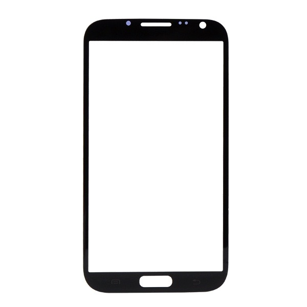 Glass for Samsung Note 2 N7100 Black