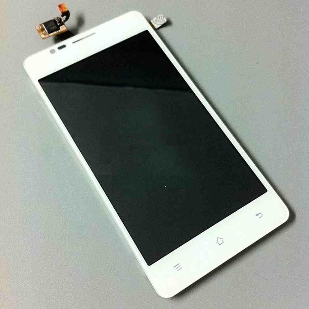 LCD with Touch Screen for Konka W990 - White (display glass combo folder)