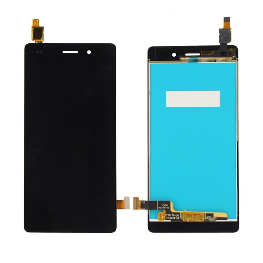 LCD with Touch Screen for Huawei P8 Lite - Black (display glass combo  folder)
