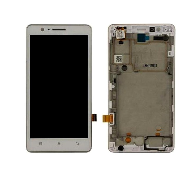 Lcd With Touch Screen For Lenovo A536 White By - Maxbhi Com