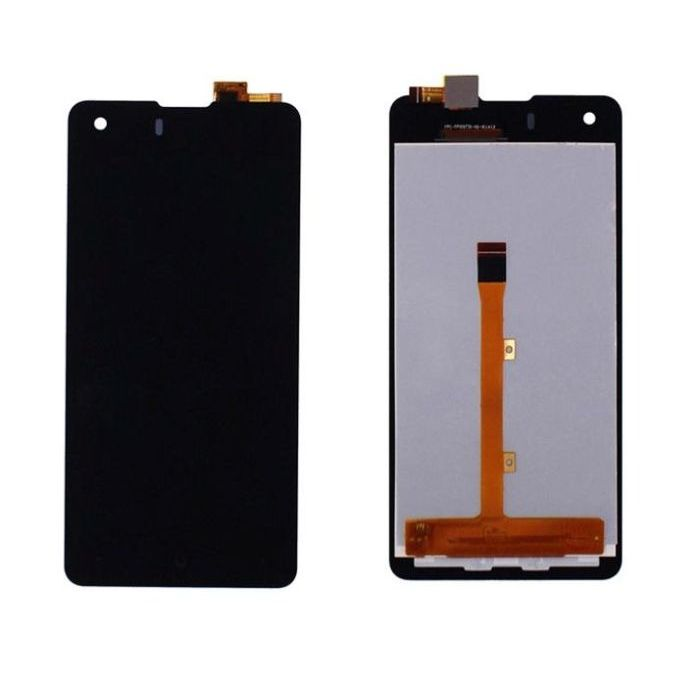 Lcd With Touch Screen For Xolo Q900s Plus Black By - Maxbhi Com