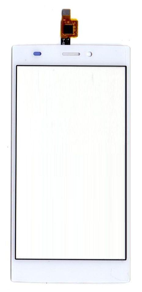 Touch Screen Digitizer For Micromax Canvas Nitro 2 E311 White By - Maxbhi.com