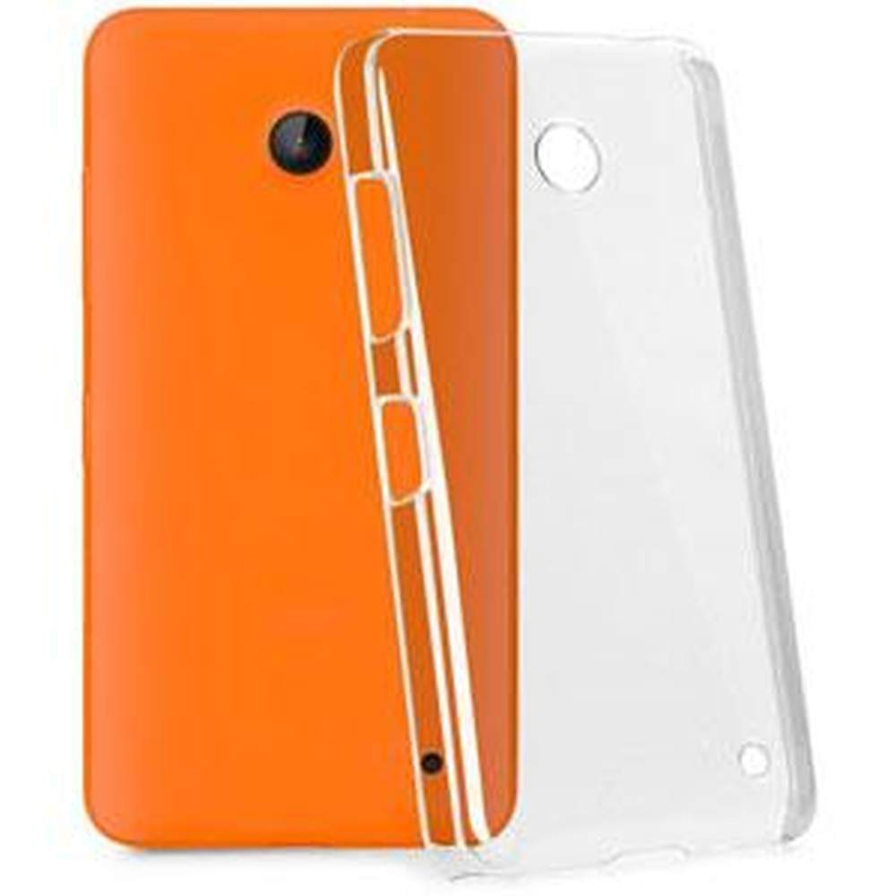 online store bf8d1 4aa9a Transparent Back Case for Micromax Bolt A35