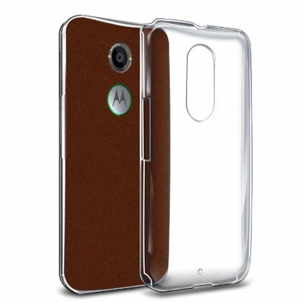 cheap for discount efed4 2a814 Transparent Back Case for Motorola Moto X