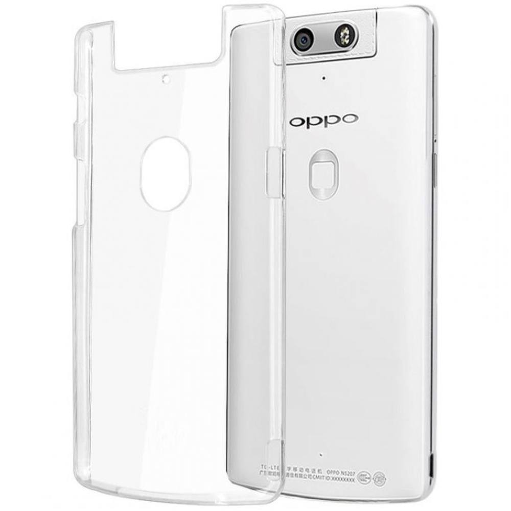 buy online 3cfd7 bdade Transparent Back Case for Oppo N3